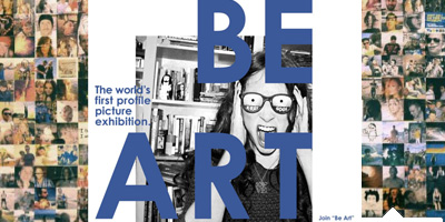Photo of You can BE ART - The Facebook Profile Picture Exhibition