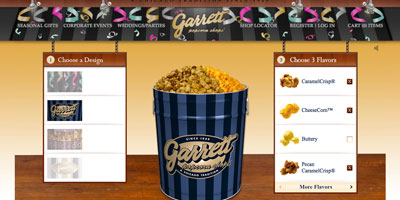 "Photo of DEVELOPER SPOTLIGHT: Americaneagle.com, Inc - ""Garret Popcorn Shops"" E-Commerce Web Site."