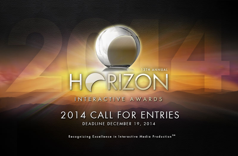 Photo of The 13th Annual Horizon Interactive Awards Call for Entries is Now Open!