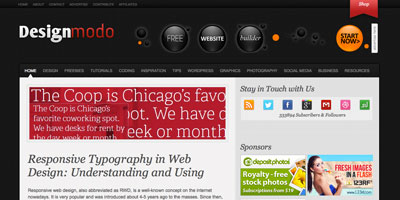 Photo of Website Spotlight: An Interview with the creator of DesignModo.com