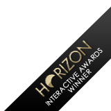Horizon Interactive Awards Winner ribbon